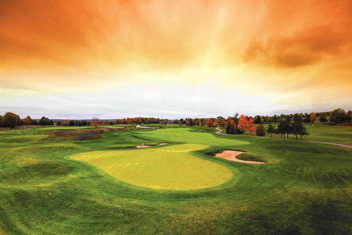 Autumn Gold Golf Package